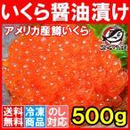イクラ醤油漬け 500g ×1箱 アメリカ�