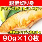 (サーモン 鮭 サケ) 銀鮭切り身900g(90g×10枚)