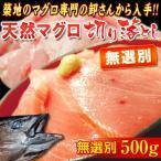 鲔鱼 - 無選別 『天然マグロ』 切り落とし (メバチ・キハダ) 業務用500g!! ※冷凍 sea ○