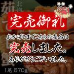 《送料無料》北海道 雄武産毛蟹 約570g×2尾 ※冷凍 sea ☆