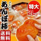 《送料無料》山梨産 「あんぽ柿」 2玉(約160g)×8パック frt ☆