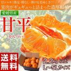 《送料無料》愛媛県産 『甘平(かんぺい)』 バラ詰め 2.2kg以上 L〜5Lサイズ ※常温 frt 〇
