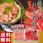 鮪魚 - 《送料無料》 国産天然『大鉢まぐろ』2種 合計1kg(切り落とし:約500g・鮪たたき:約500g) ※冷凍 sea