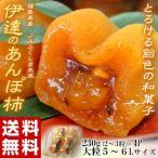 カキ かき 送料無料 福島県産 JAふくしま未来 大粒!伊達のあんぽ柿 5〜6Lサイズ(2〜3粒)230g×4パック 常温