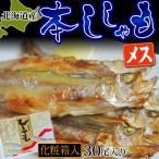 柳葉魚 - 北海道産 本ししゃも【メス】30尾 ※冷凍  ☆