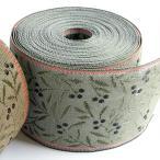 畳ヘリテープ オリーブ 巾8cm×10m巻 HER624  つくる楽しみ 畳へりテープ 1803sale