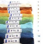 糸 刺し子糸 さしこ糸 刺し子 糸 単色 20m OS-1-23