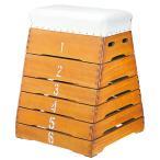 とび箱 6段 ノンスリップゴム付 跳び箱 富士型跳び箱 シックハウス対応