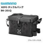 シマノ ゼフォー (XEFO) タックルバッグ BK-201Q ブラックダックカモ 32L