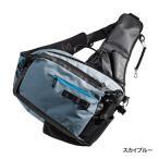 シマノ バッグ ルアー エギング アジング ソルト XEFO・Light Salt Sling Shoulder Bag BS-224P スカイブルー