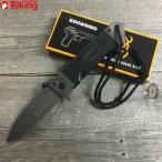 ブローニング フォールディングナイフ DA-35 221mm ステンレス製 折り畳みナイフ フィッシング、キャンプ BROWNING 新品