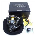 美品 シマノ 13ステラSW 8000PG/P437M