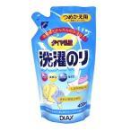 【即納】 【◇】 ダイヤ乳液 洗濯のり つめかえ用 (400mL) 詰め替え用