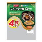 エムズワン ニッポンハム レストラン仕様 カレー 辛口 (170g×4袋)
