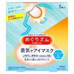 花王 めぐりズム 蒸気でホットアイマスク メントールin 爽快感 (5枚入) 目元用温熱シート