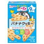 ショッピング赤ちゃん 和光堂 赤ちゃんのおやつ +Caカルシウム バナナクッキー 9か月頃から (2本×6袋) ベビーおやつ