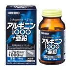 オリヒロ アルギニン1000+亜鉛 (120粒) 栄養機能食品