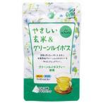 小谷穀粉 やさしい玄米&グリーンルイボス (3.5g×8袋) テトラパック ノンカフェイン