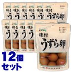 《セット販売》 加藤産業 カンピー 味付うずら卵 (6個入)×12個セット ※軽減税率対象商品
