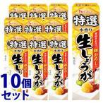 《セット販売》 ハウス食品 特選本香り 生しょうが (40g)×10個セット 薬味 ※軽減税率対象商品