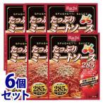 《セット販売》 ハチ食品 たっぷりミートソース (285g)×6個セット パスタソース ※軽減税率対象商品