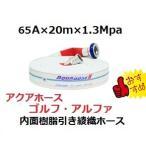 消防散水用ホース 65A×20m×1.3Mpa 岩崎製作所 ゴルフアルファ 未検定品