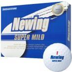 ブリヂストン ニューイング スーパーマイルド ゴルフボール 1ダース