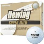 ブリヂストン ニューイング スーパーマイルド ゴルフボール パールホワイト 1ダース