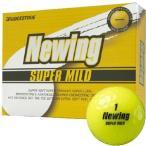 ブリヂストン ニューイング スーパーマイルド ゴルフボール イエロー 2ダース