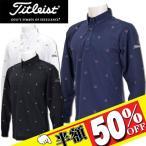 TITLEIST タイトリスト 長袖ポロシャツ TWMC1604