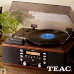 レコードプレーヤー/TEAC LP-R550USB-B(ブラウン) ターンテーブル/カセット付きCDレコーダー