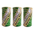 アイコク ベーキングパウダー 家庭用 アルミ不使用 100g ×3缶