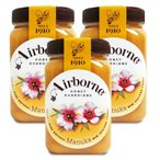 Airbone エアボーン マヌカハニー 500g ×3個 【はちみつ ハチミツ 蜂蜜 クリーム マヌカ ニュージーランド】《送料無料》