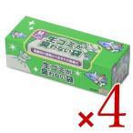 クリロン化成 BOS(ボス) 臭わない袋生ゴミ用箱型 Mサイズ90枚入 × 4個