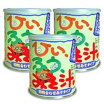 かねさ C65 ひいふうみそ汁しじみ 376g × 3缶 インスタント