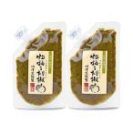 川津食品 粒柚子胡椒 (青) 100g × 2個  川津家謹製