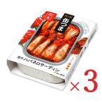 K&K 缶つまスパイシー 激辛ハバネロサーディン 105g  × 3個