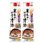 盛田 米だけの料理用清酒 1.8L × 2本