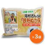 河村さんちの鉄粉ぬか床 1kg ×3 中村食品産業