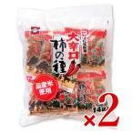 浪花屋製菓 大辛口柿の種 徳用袋 224g(16g×14袋入) × 2袋