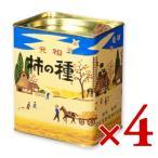 浪花屋製菓 柿の種 進物縦缶 190g × 4缶