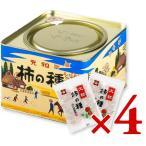 浪花屋製菓 大粒柿の種 進物缶  20g×12袋 × 4缶