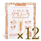 西田精麦 国産大麦グラノーラ 200g × 12袋 【大麦 国