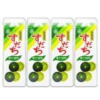 JA徳島 すだち果汁100% 1000ml × 4本 紙パック