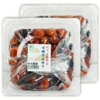 竹内農園 紀州 有機栽培 紫蘇梅干 3年熟成 1kg × 2個 お徳用
