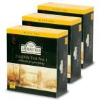 富永貿易 AHMAD アーマッドティー 紅茶 NO.1 100P × 3