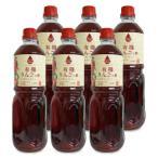 内堀醸造 フルーツビネガー 有機りんごの酢 1L × 6本  有機JAS