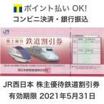 JR西日本株主優待券 有効期限2021年5月31日