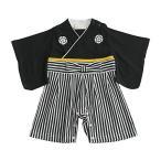 Aenak 袴ロンパース 黒 60cm