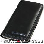 トミーヒルフィガー 財布 91-5845-01 TOMMY HILFIGER ラウンドファスナー財布 メンズ ウォレット 新品 ラッピング無料可 並行輸入品